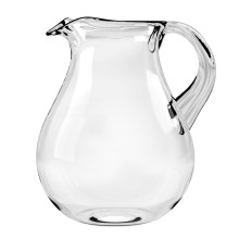 Cordoba Acrylic 116 Oz Belly Pitcher Clear | Gracious Style