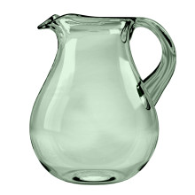 Cordoba Acrylic 116 Oz Belly Pitcher Recycled Green | Gracious Style