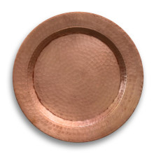 Copper Melamine Charger | Gracious Style