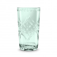 Scroll Cut Acrylic 21.5 Oz Jumbo Bottle Green | Gracious Style