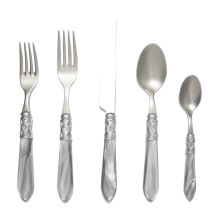 Aladdin Brilliant Light Gray Flatware