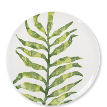 Into The Jungle Arica Palm Leaf Dinnerware | Gracious Style