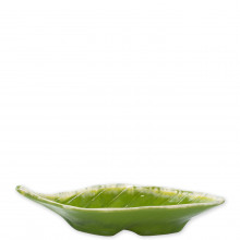 Reactive Leaves Small Dish - 9.75 in. l, 4 in. w, 2.25 in. h | Gracious Style