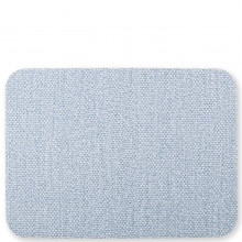 Reversible Placemats Blue/gray Rectangular Placemat - 17.75 in. l, 13 in. w | Gracious Style