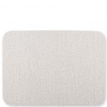 Reversible Placemats Light Gray/brown Rectangular Placemat - 17.75 in. l, 13 in. w | Gracious Style