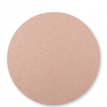 Reversible Placemats Rose Gold/sand Round Placemat - 15 in. d | Gracious Style