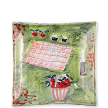 Wall Plates Picnic Square Wall Plate - 11 in. sq | Gracious Style