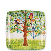 Wall Plates Birds Square Wall Plate - 12.5 in. sq | Gracious Style