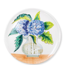 Wall Plates Hydrangea Round Platter - 13.75 in. d | Gracious Style