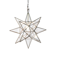 Small Clear Star Chandelier | Gracious Style