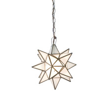 Extra Large Frosted Star Chandelier | Gracious Style