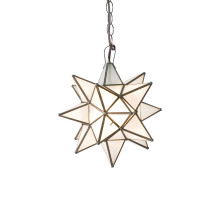Large Frosted Star Chandelier | Gracious Style