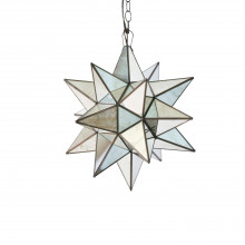 Small Antique Mirror Star Chandelier | Gracious Style