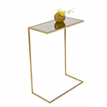 Gold Leaf Cigar Table | Gracious Style