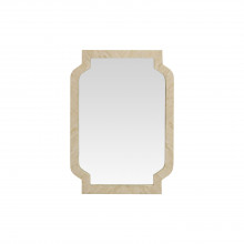 Mirror With Bone Inlay Frame | Gracious Style