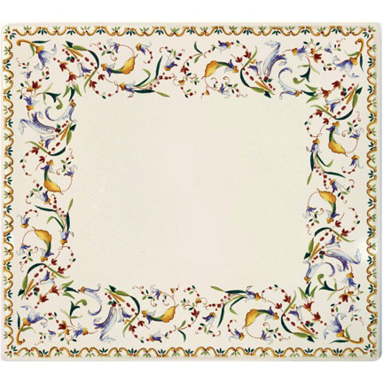 Toscana Square Plate 11 1/2 In X 10 1/2 In | Gracious Style