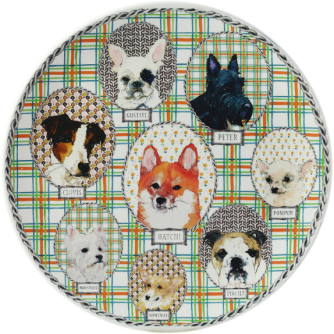 Darling Dog Dinnerware | Gracious Style