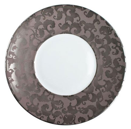 French Cancan Platinum Dinnerware | Gracious Style