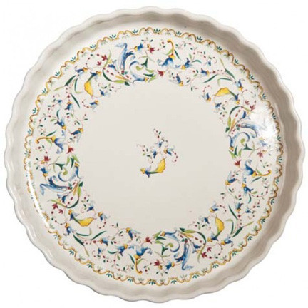 Toscana Pie Dish Round 11 1/2 In Dia, 1 2/3 In H | Gracious Style