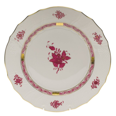 Chinese Bouquet Raspberry Dinnerware | Gracious Style