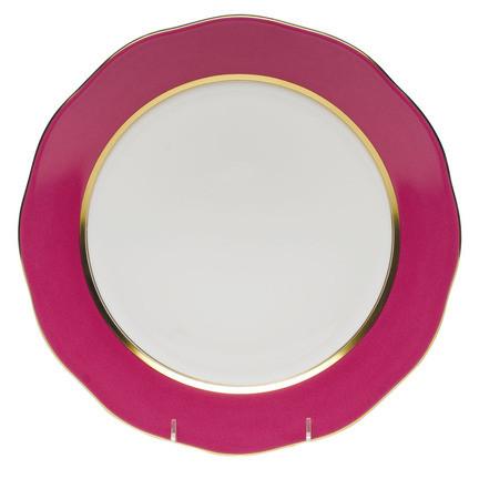 Silk Ribbon Raspberry Dinnerware   Gracious Style