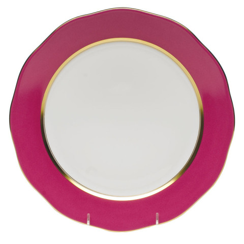 Silk Ribbon Raspberry Dinnerware | Gracious Style