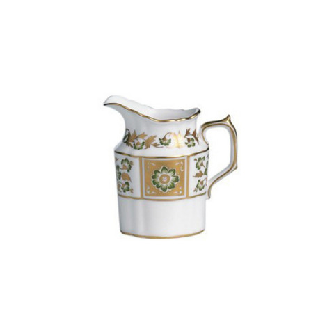 Derby Panel Green Creamer Jug 8.75 oz | Gracious Style