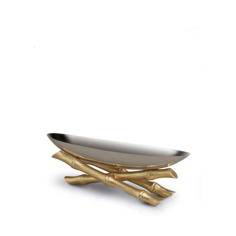 Bamboo Serving Boat | Gracious Style
