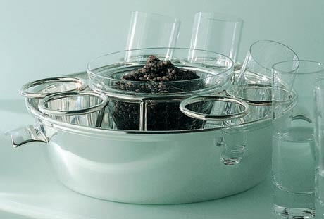 Lutece Caviar-Vodka Bowl | Gracious Style