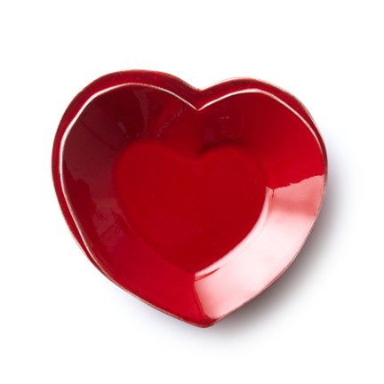 Lastra Red Heart Dish | Gracious Style