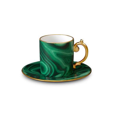 Malachite Espresso Cup | Gracious Style