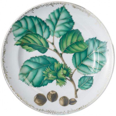 Nutleaf Dessert Plate Set Of Four | Gracious Style