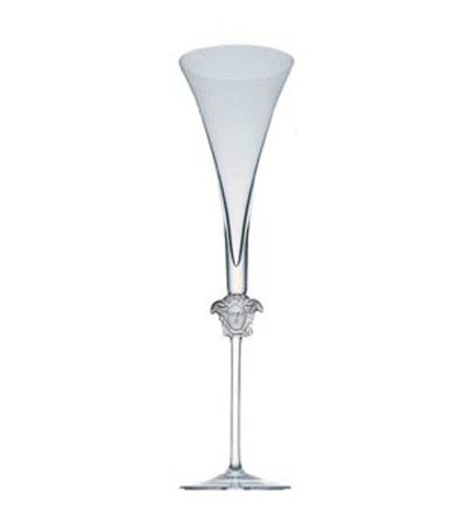 Medusa Lumiere Champagne Flute 6 ounce, 12 inch | Gracious Style