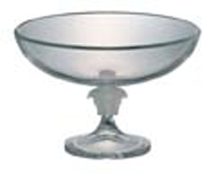 Medusa Lumiere Bowl, Footed, Crystal 13 inch | Gracious Style