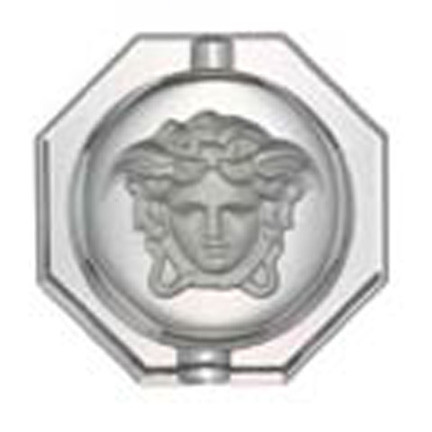 Medusa Lumiere Ashtray, Crystal 6 1/4 inch | Gracious Style