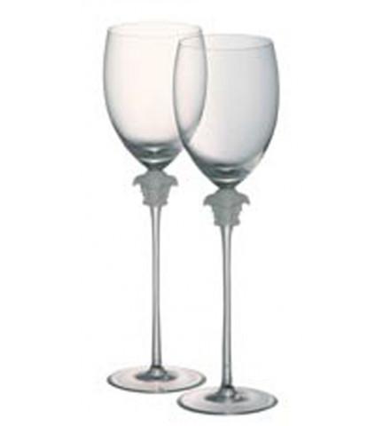 Medusa Lumiere Water Goblet PAIR, 16 ounce, 11 1/2 inch | Gracious Style