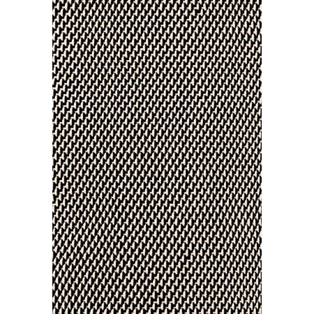 Two-Tone Rope Black/Ivory Indoor/Outdoor Rug | Gracious Style
