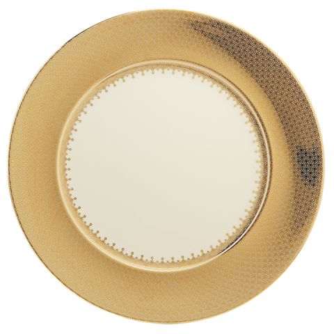 Gold Lace Service Plate | Gracious Style