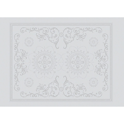 "Eloise Diamant Placemat 21""X15"", 100% Cotton, Green Sweet 