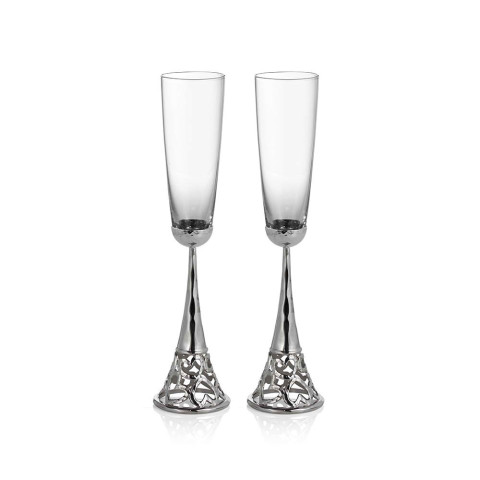 Heart Toasting Flutes Set of 2 | Gracious Style