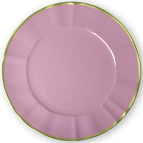 Pink Charger 12.5 in Round | Gracious Style
