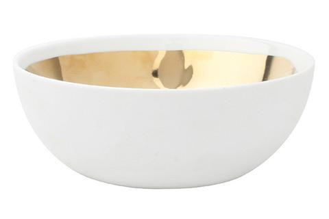 Dauville Bowl Lg Gold | Gracious Style