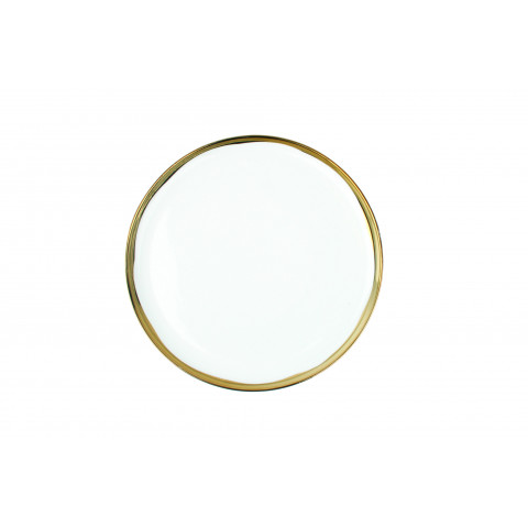 Dauville Salad Plate Gold   Gracious Style