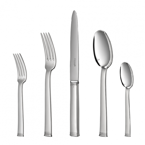 Commodore Silverplated Flatware | Gracious Style