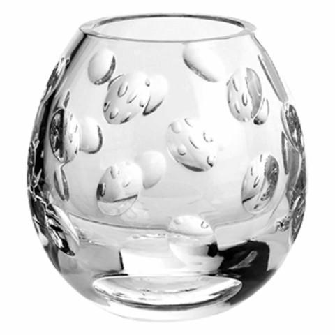 Christofle Cluny Crystal Vase Small Gracious Style
