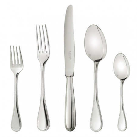 Perles Stainless Flatware   Gracious Style