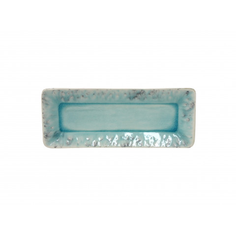 Madeira Blue 10.75 In Rectangular Tray | Gracious Style