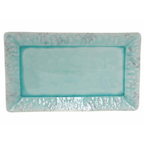 Madeira Blue 16 In Rectangular Tray | Gracious Style