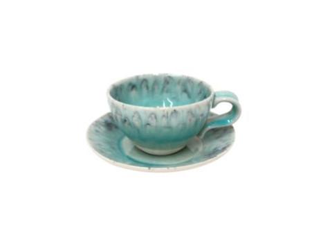 Madeira Blue Espresso Cup & Saucer | Gracious Style