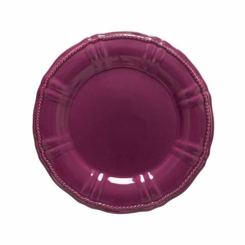Village Aubergine Charger Plate 1 H X 13 L X 13 W In | Gracious Style